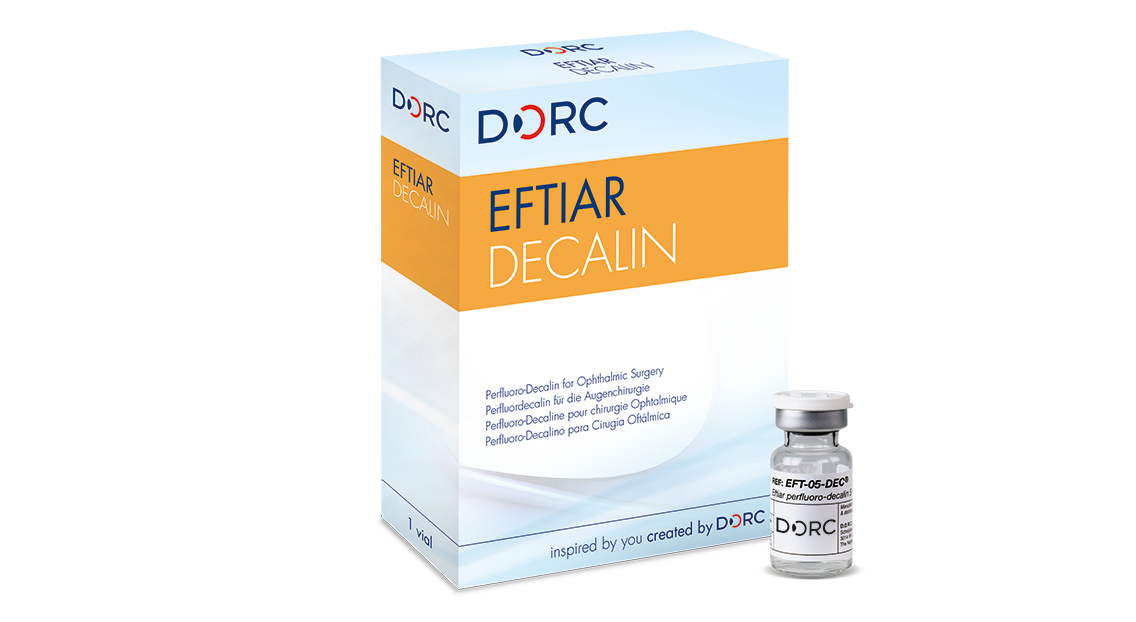 Eftiar Decalin, vial 5ml perfluoro-Decalin