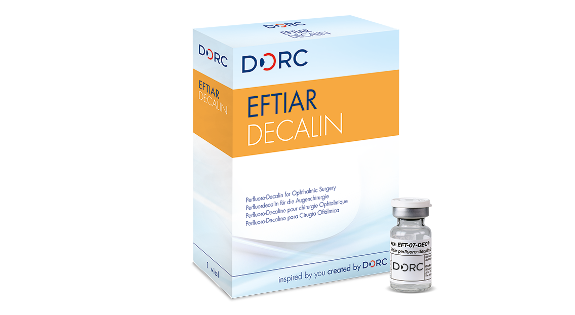 Eftiar Decalin, vial 7ml Perfluoro-Decalin