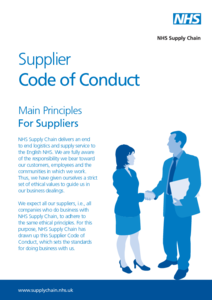Appendix 2 - NHS Supply Chain Code of Conduct