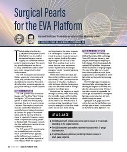 Surgical Pearls for the EVA Platform (RETINA TODAY FEB 2020)